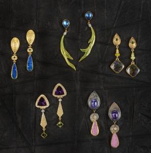 Earrings by  Elizabeth McDevitt